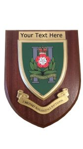 2 nd Military Intelligence  Personalised Military Wall Plaque